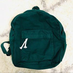Handbags - Green mini backpack